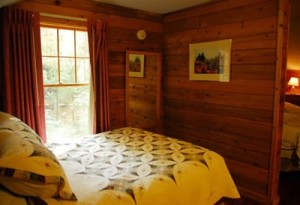 Roan Mountain State Park rental cabin