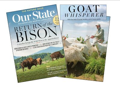 Our State (April 2016) magazine cover mashup